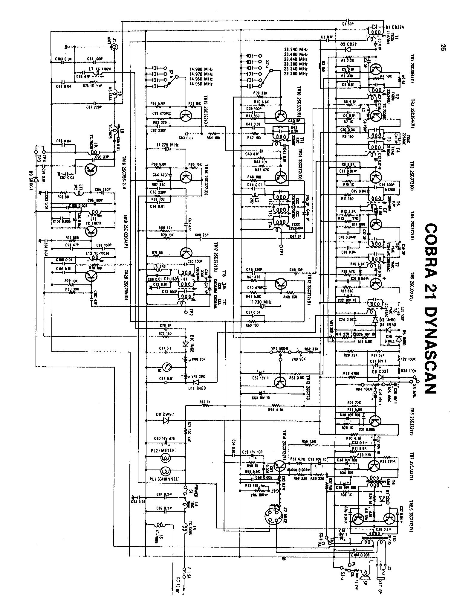 Schemi Elettrici Radio Cb : Schemi elettrici vari
